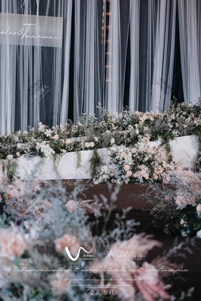 这是我想要的婚礼-灰室内韩式婚礼照片