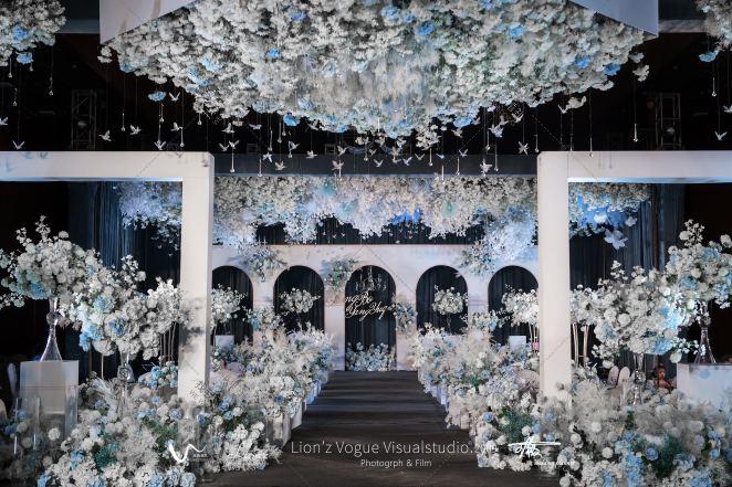 《最好的我们》-灰室内大气婚礼照片