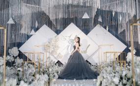 绵阳浮生御-简约几何婚礼图片