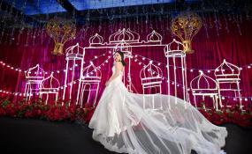 四川省成都市都江堰市金桂园-相依为命婚礼图片