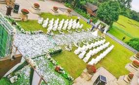 蓝光关岭高尔夫-婚礼图片