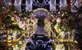 乐山夹江峨眉山月花园酒店-《花语星愿》婚礼图片