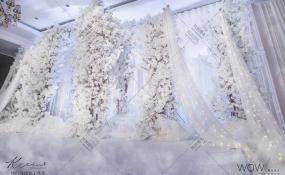 红谷滩独一处-纯白婚礼图片