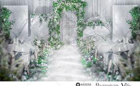 嘉莱特精典国际酒店典雅厅-你好,新生活婚礼图片
