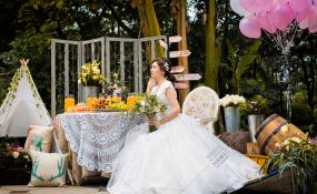 第四城花园餐厅-婚礼图片