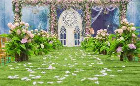 永修户外婚礼-告白气球婚礼图片
