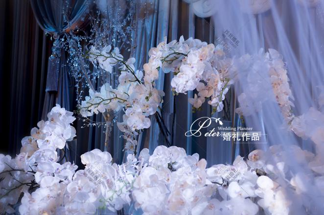 【Pure Love】-白室内唯美婚礼照片