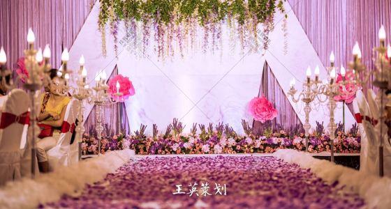 薰衣草的爱-婚礼策划图片