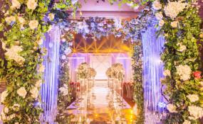 双流国栋酒店-《花影光亭》婚礼图片