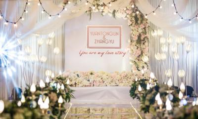 《浅影》白色婚礼,薄荷绿婚礼,粉色婚礼,室内婚礼,韩式婚礼,西式婚礼