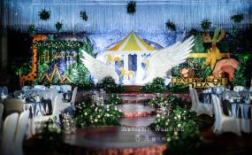 南滨路喜来登五楼-月羽翼婚礼图片