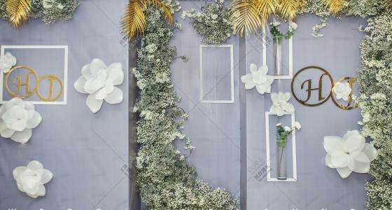 灰蓝调(答谢宴)-婚礼策划图片
