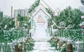 金领会-一缕阳光婚礼图片