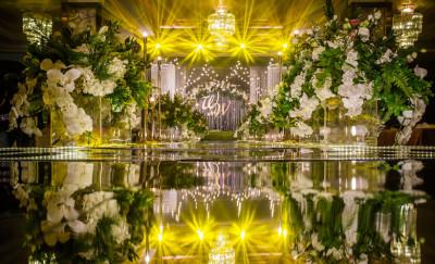 《漫花星梦》绿色婚礼,棕色婚礼,黄色婚礼,室内婚礼,唯美婚礼,森系婚礼,大气婚礼