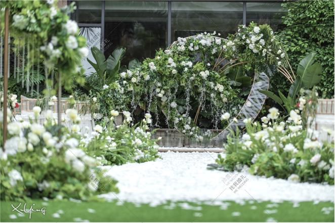 时之歌-白草坪主题婚礼照片