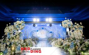 龙之梦酒店龙凤厅-Blue 婚礼图片