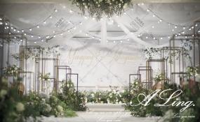 温江·楚天印象酒楼-麋鹿森林婚礼图片