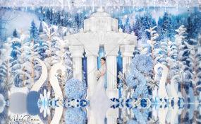 凯宾斯基大酒店-The frozen heart with Queen婚礼图片
