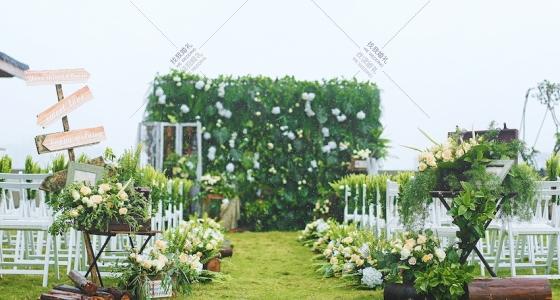 风吹过的下雨天 -婚礼策划图片