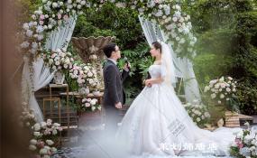 洲际酒店法式餐厅-刚好遇见你婚礼图片