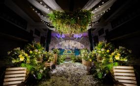 资阳博雅格林酒店-拾光绿影婚礼图片