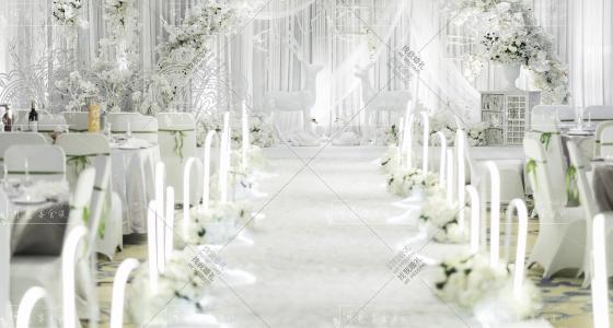White-婚礼策划图片