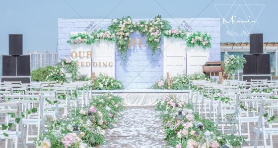 盛夏里的一抹绿-婚礼策划图片