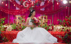 新皇城酒店-烈焰繁花婚礼图片