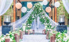 南泉丽筠酒店-小清新户外婚礼婚礼图片