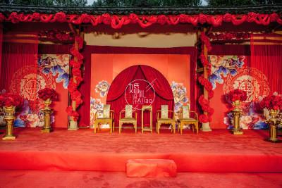 《老房有喜》红色婚礼,户外婚礼,中式婚礼
