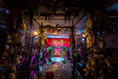 影红色婚礼,薄荷绿婚礼,室内婚礼,小清新婚礼,森系婚礼,西式婚礼