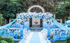 西苑半岛-【蓝色の永恒】婚礼图片