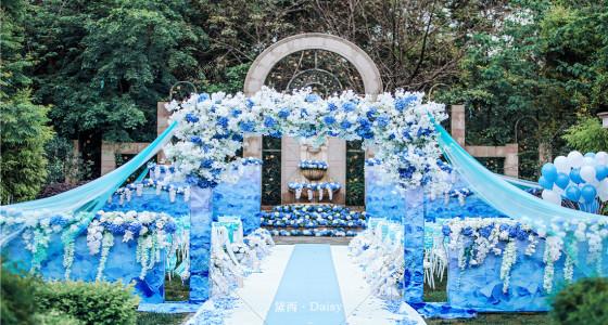【蓝色の永恒】-婚礼策划图片