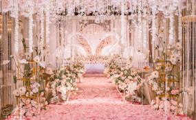 广安金福国际酒店-《粉色星空》婚礼图片