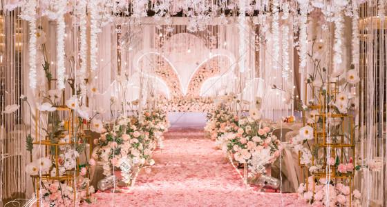 《粉色星空》-婚礼策划图片