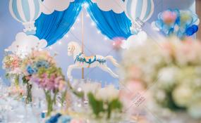 明宇豪雅-飞屋环游世界的小王子婚礼图片