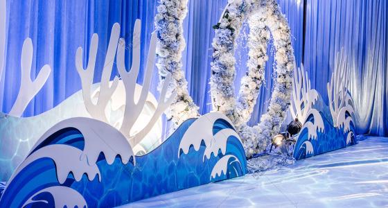 海洋风-婚礼策划图片