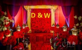 营山香都名宴-中国红婚礼图片