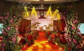 加州花园酒店 -布朗的花园婚礼图片