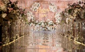 明宇尚雅酒店 -《粉金》婚礼图片