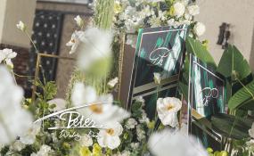 崇州喜洲花园-《Pure Green 》婚礼图片