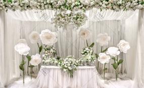 环球洲际-众神降临花园婚礼图片