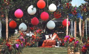 锦亦缘-染上浆果色的下午茶婚礼图片