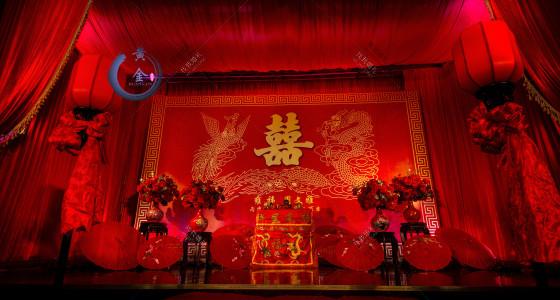 《龙凤呈祥》-婚礼策划图片