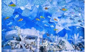 有豪锦江三联厅-《海洋世界》婚礼图片