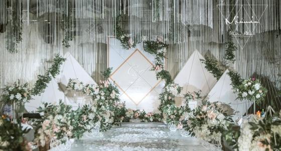 几何密语-婚礼策划图片