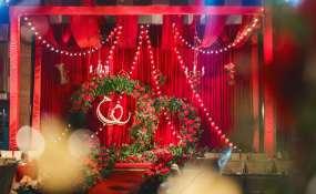 姊妹庄园-Fashion red婚礼图片