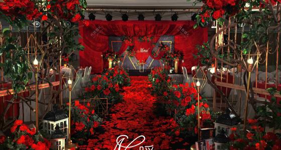 红与黑-婚礼策划图片