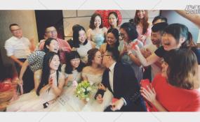 都江堰岷江新濠-婚礼图片