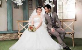 婚纱照造型 案例图片